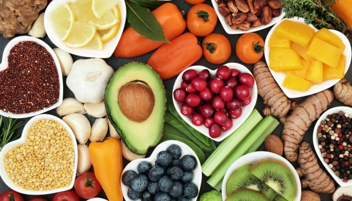 verduras y frutas amor